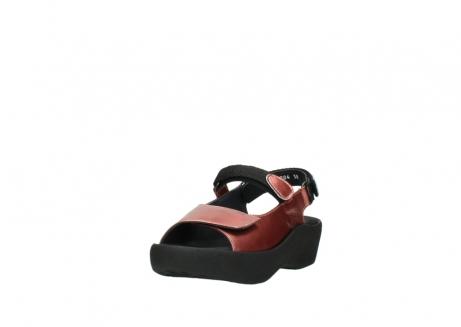 wolky sandalen 3204 jewel 853 koraal rood lakleer_21