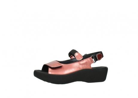 wolky sandalen 3204 jewel 853 koraal rood lakleer_24