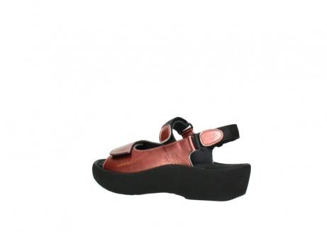 wolky sandalen 3204 jewel 853 koraal rood lakleer_3