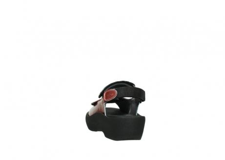 wolky sandalen 3204 jewel 853 koraal rood lakleer_6