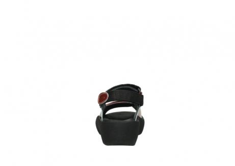 wolky sandalen 3204 jewel 853 koraal rood lakleer_7