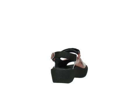 wolky sandalen 3204 jewel 853 koraal rood lakleer_8