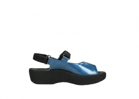 wolky sandalen 3204 jewel 882 denim metallic lakleer_13