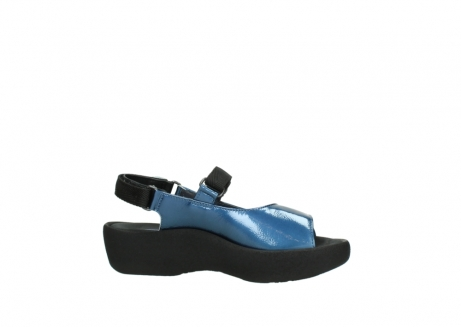 wolky sandalen 3204 jewel 882 denim metallic lakleer_14