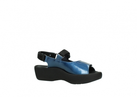 wolky sandalen 3204 jewel 882 denim metallic lakleer_15