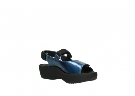 wolky sandalen 3204 jewel 882 denim metallic lakleer_16