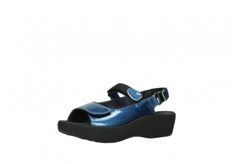 wolky sandalen 3204 jewel 882 denim metallic lakleer_23