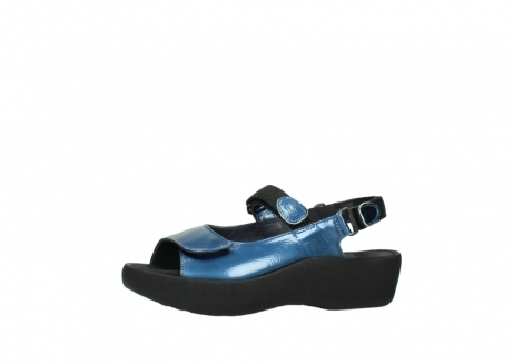wolky sandalen 3204 jewel 882 denim metallic lakleer_24