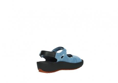 wolky sandalen 3325 rio 382 denim blauw leer_10