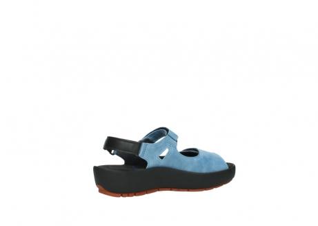 wolky sandalen 3325 rio 382 denim blauw leer_11