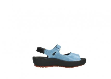 wolky sandalen 3325 rio 382 denim blauw leer_13