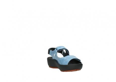wolky sandalen 3325 rio 382 denim blauw leer_17