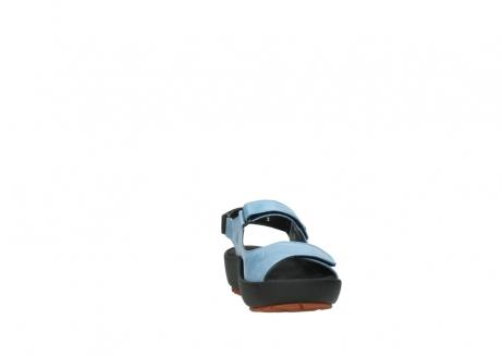 wolky sandalen 3325 rio 382 denim blauw leer_18
