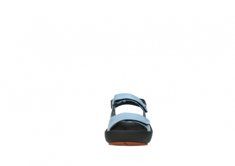 wolky sandalen 3325 rio 382 denim blauw leer_19