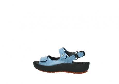 wolky sandalen 3325 rio 382 denim blauw leer_2
