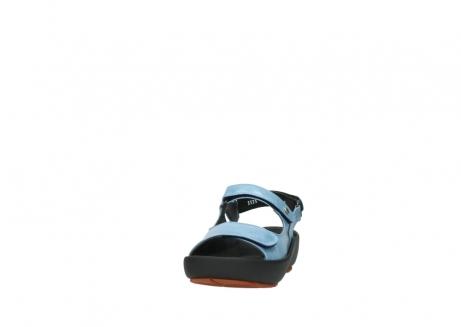 wolky sandalen 3325 rio 382 denim blauw leer_20