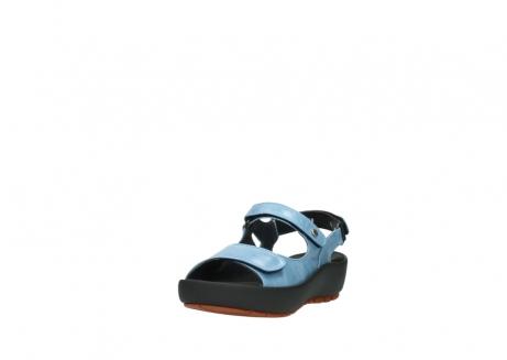 wolky sandalen 3325 rio 382 denim blauw leer_21