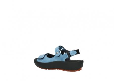 wolky sandalen 3325 rio 382 denim blauw leer_3