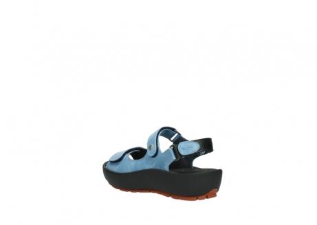 wolky sandalen 3325 rio 382 denim blauw leer_4