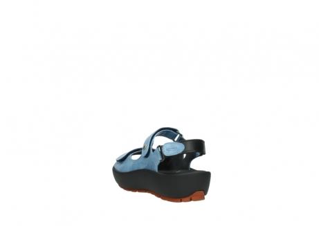 wolky sandalen 3325 rio 382 denim blauw leer_5
