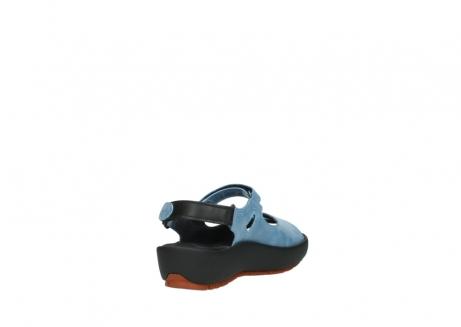 wolky sandalen 3325 rio 382 denim blauw leer_9