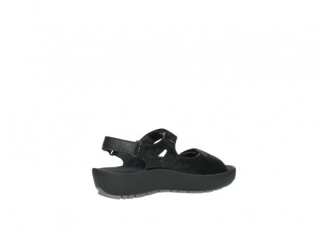 wolky sandalen 3325 rio 400 zwart craquele leer_11