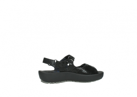 wolky sandalen 3325 rio 400 zwart craquele leer_12