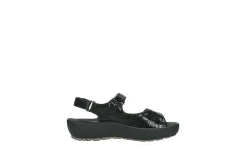 wolky sandalen 3325 rio 400 zwart craquele leer_13