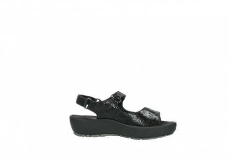 wolky sandalen 3325 rio 400 zwart craquele leer_14
