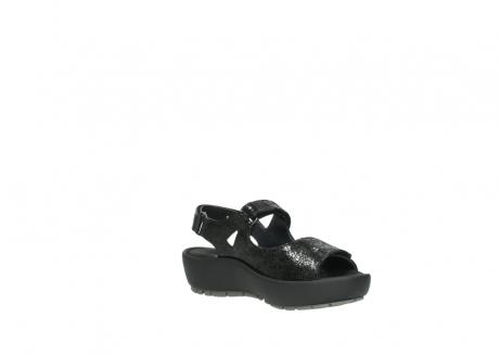 wolky sandalen 3325 rio 400 zwart craquele leer_16