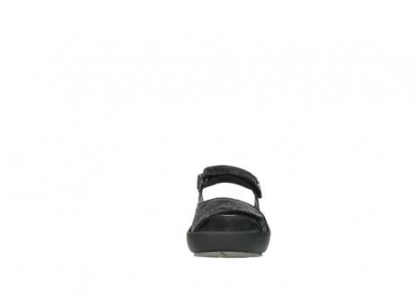 wolky sandalen 3325 rio 400 zwart craquele leer_19
