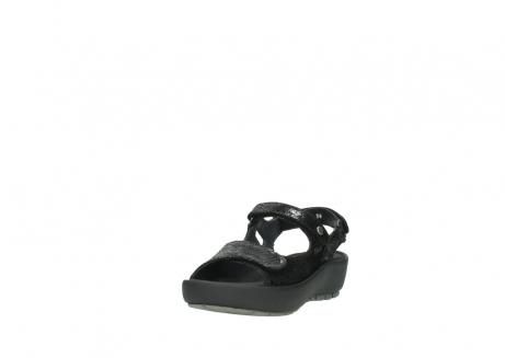 wolky sandalen 3325 rio 400 zwart craquele leer_21