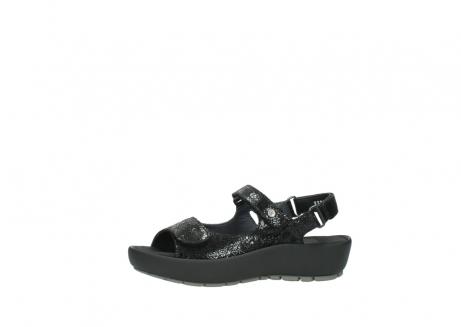 wolky sandalen 3325 rio 400 zwart craquele leer_24