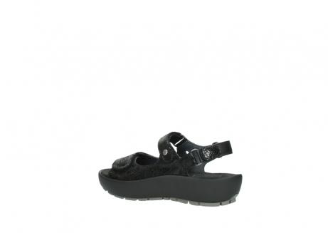 wolky sandalen 3325 rio 400 zwart craquele leer_3