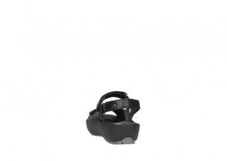 wolky sandalen 3325 rio 400 zwart craquele leer_6