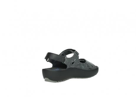 wolky sandalen 3325 rio 420 grijs crash suede_10