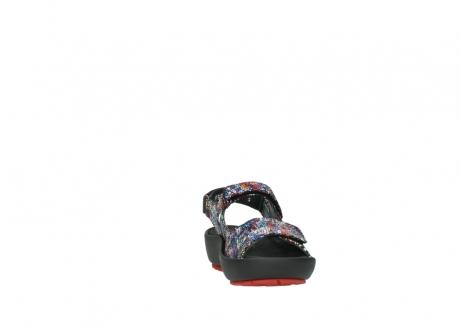 wolky sandalen 3325 rio 497 multi zwart craquele leer_18