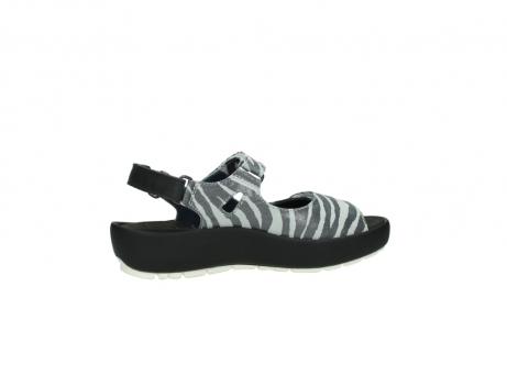 wolky sandalen 3325 rio 912 zebra print metallic leder_12