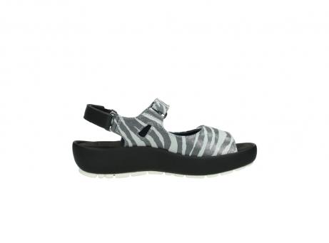 wolky sandalen 3325 rio 912 zebra print metallic leder_13
