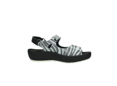 wolky sandalen 3325 rio 912 zebra print metallic leder_14