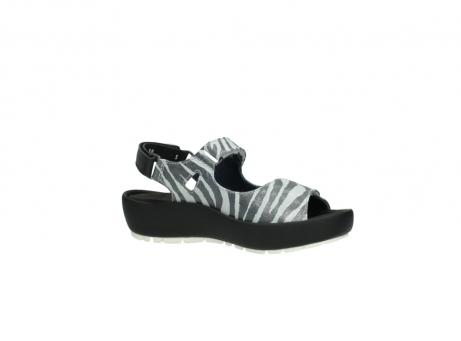 wolky sandalen 3325 rio 912 zebra print metallic leder_15