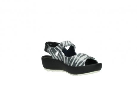wolky sandalen 3325 rio 912 zebra print metallic leder_16