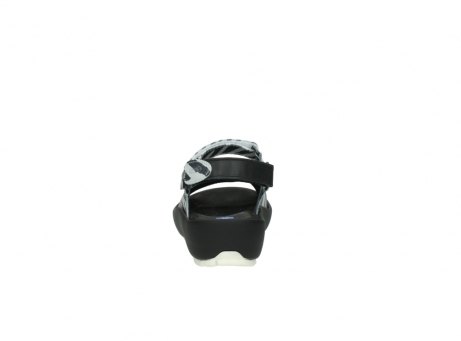 wolky sandalen 3325 rio 912 zebra print metallic leder_7