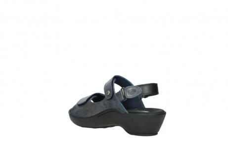 wolky sandalen 3476 lema 880 blauw leer_4