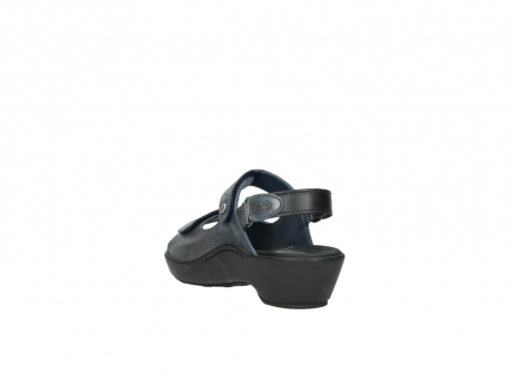 wolky sandalen 3476 lema 880 blauw leer_5