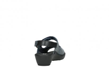 wolky sandalen 3476 lema 880 blauw leer_8