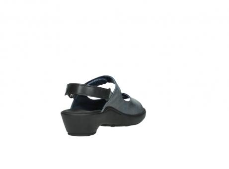 wolky sandalen 3476 lema 880 blauw leer_9