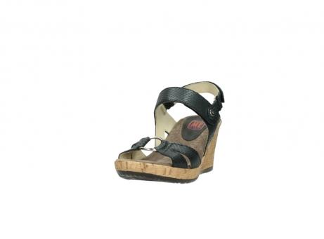 wolky sandalen 4630 mentha 621 antraciet slangenprint leer_21