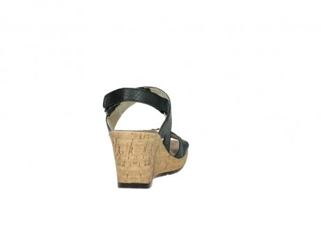 wolky sandalen 4630 mentha 621 antraciet slangenprint leer_8