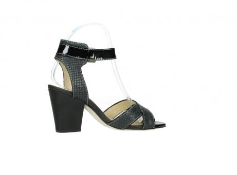 wolky sandalen 4640 nyc 621 antraciet slangenprint leer_12